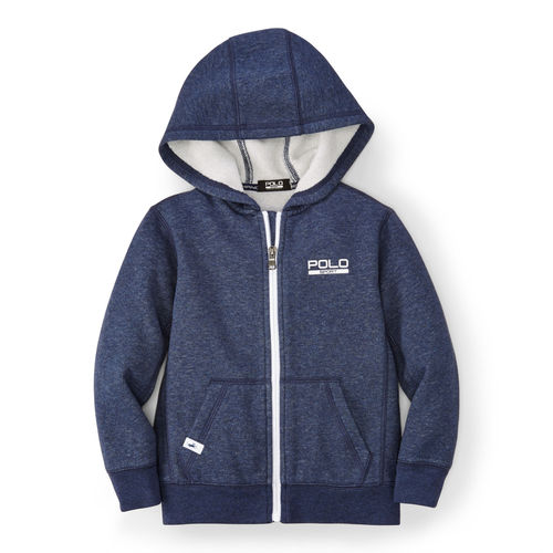 Color-Blocked Cotton Hoodie